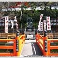 從JR站步行到紀三井寺大約10分鐘