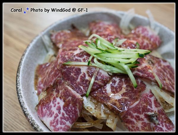 碳烤生牛肉聽起來很可怕...吃起來很嫩有種入口即化的感覺