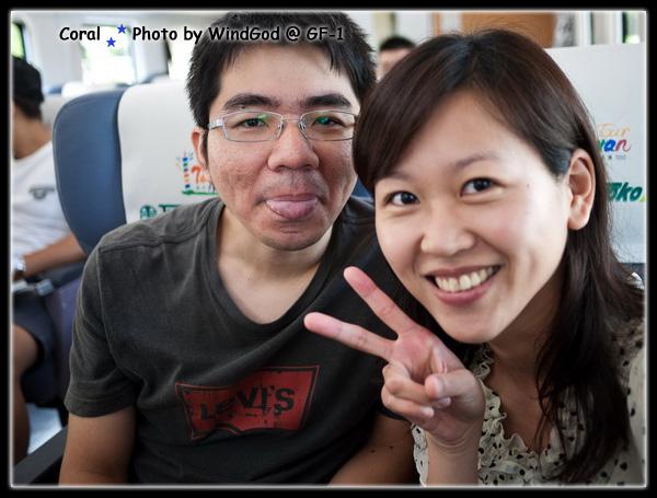 踏上花蓮之旅~~~淘氣2人組出發!!