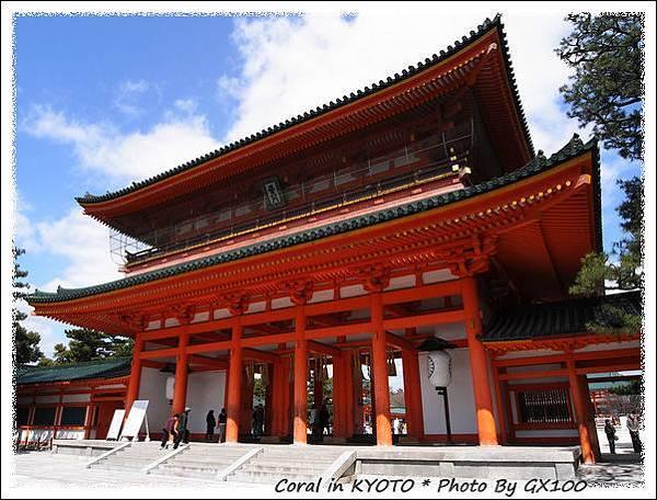 日本三大鳥居之一平安神宮