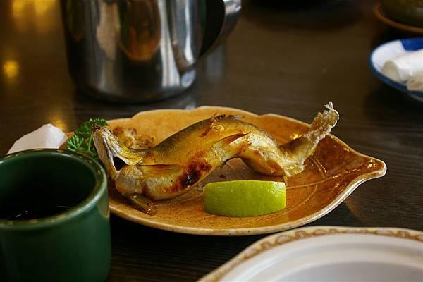松屋日本料理。香魚