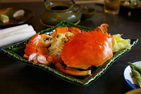 松屋日本料理。處女蟳
