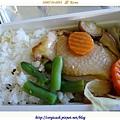 安妞哈誰唷~飛機餐:雞肉