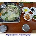 安妞哈誰唷~第一次正式韓式晚餐:馬鈴薯肉