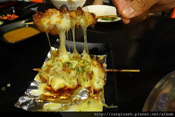 吉 炭火燒烤-起士雞肉串