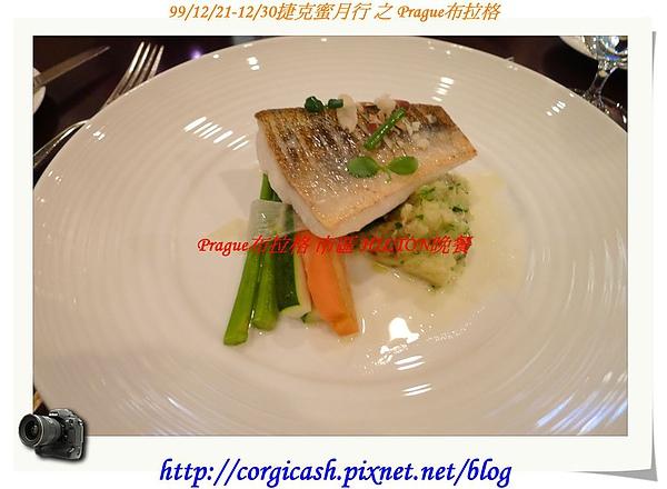 hilton晚餐~凱蒂的主餐...魚排