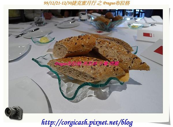 米其林午餐~餐前麵包..香脆好吃