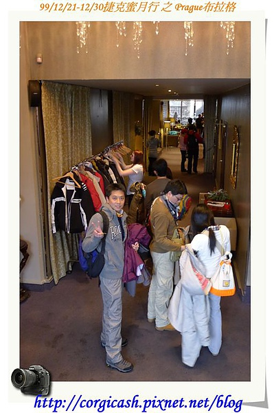 米其林午餐~餐廳入口~每個人的外套都有一個號碼牌