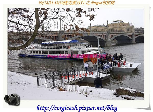 布拉格~包船遊伏爾塔瓦河