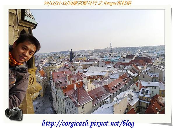 天文鐘塔上的布拉格