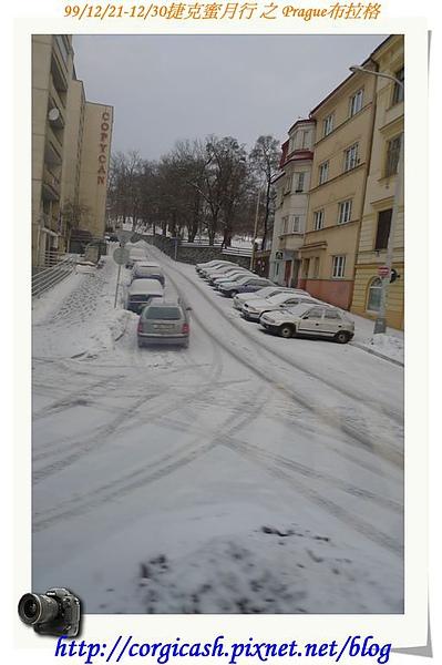布拉格聖誕假期街景