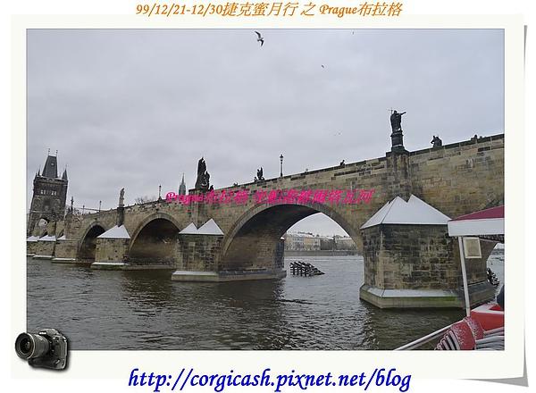 布拉格伏爾塔瓦河街景~查理大橋