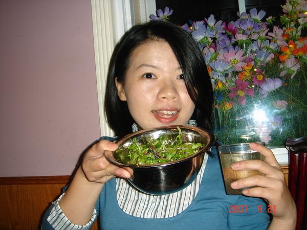 韓式的生菜