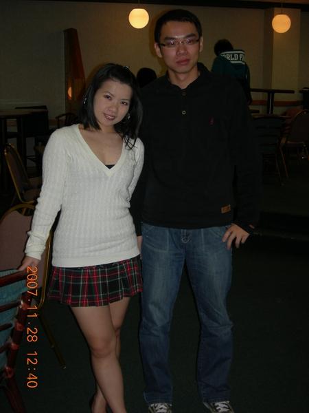 害羞的台灣同學Chan