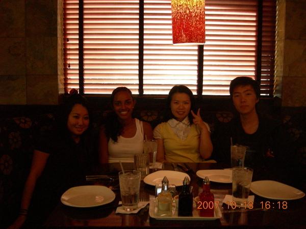 中式餐廳吃飯
