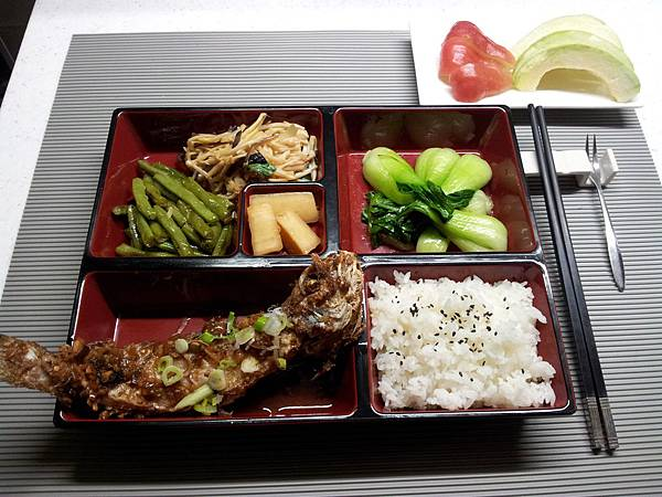 主菜-乾煎馬頭魚