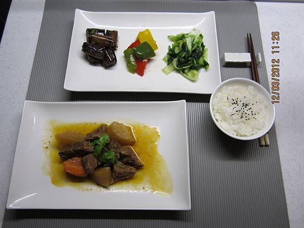 主菜-紅燒牛腩