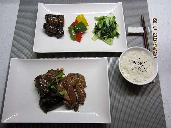 主菜-上海香菇烤雞