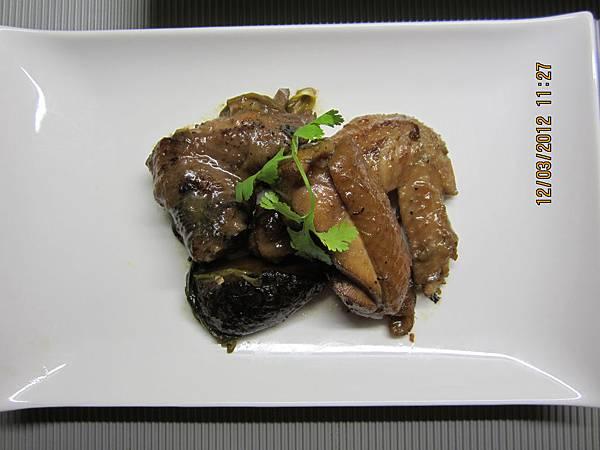 上海香菇烤雞