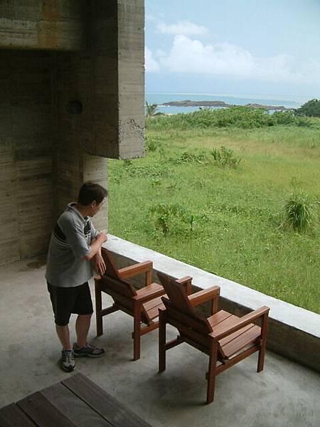 石梯灣118中庭觀景窗