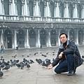 聖馬可大廣場的鴿群