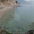 清澈到不行的海水