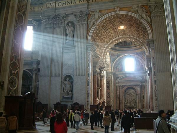 世界最大教堂─聖彼得大教堂