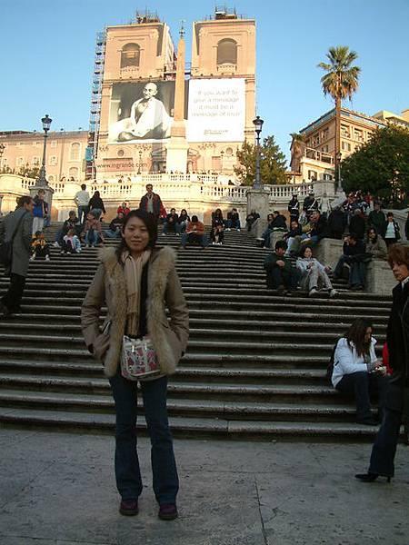 羅馬假期─西班牙廣場