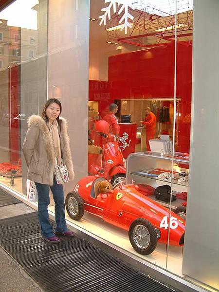 法拉利嬰兒車