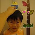 06-寶寶很高興小雞來量身高
