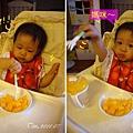(1Y1M)貝貝記事20-開始試著用叉子吃東西02