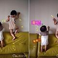 (1Y1M)寶寶貝貝爬沙發四連拍02