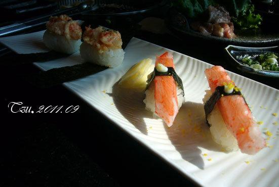 (3Y3M)中秋吃烤肉-珍味一口握壽司