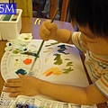 (3Y5M)畫水彩-b按照書上去試顏色
