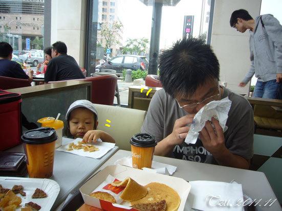 (3Y5M&1Y5M)麥當勞偷懶早餐