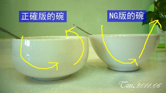 [訓練孩子吃飯]工具篇-正確碗與NG碗的差別