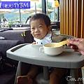 [訓練吃飯]工具篇-外出的選擇-店裡的玉米湯碗(1Y3M)