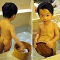 (2Y6M&6M)2010雲品-洗澡06寶寶露小屁屁唷,哈啾!