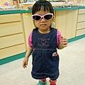 (1Y10M)貝貝戴太陽眼鏡01