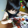 (1Y11M)10貝貝大師畫得很激動-應該是感覺靈感湧湧而來