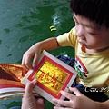 (4Y2M)中元節-紙錢的次序-先燒神明金