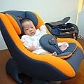 (1m)寶寶被城府深媽媽練習汽座