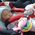 (4m)寶寶第一次坐汽座-1