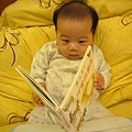 (4m)寶寶認真唸書
