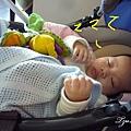 99年生日吃吃吃-中場休息-妹妹終於睡著