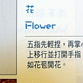 手語--花