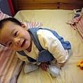 (6m)可愛寶寶只能坐著三秒