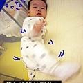 (6m)寶寶新裝備-偶爾也會突槌