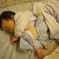 (6m)睡相不好的寶寶
