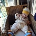 (7m)山上人家-寶寶在陽光室玩